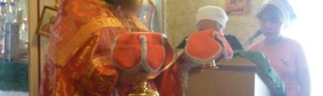 28 июля 2016 года в день Равноапостольный Владимира,великого князя Российкого  Благочинный Киясовского округа Владимир Шелих совершил Божественную литургию в храме Архангела Михаила в с.Киясово Удмуртской Республики