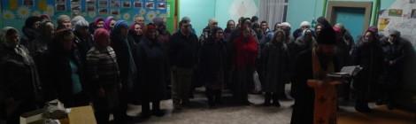 13 декабря кона Святой блаженной Матроны Московской в  села Ермолаево.